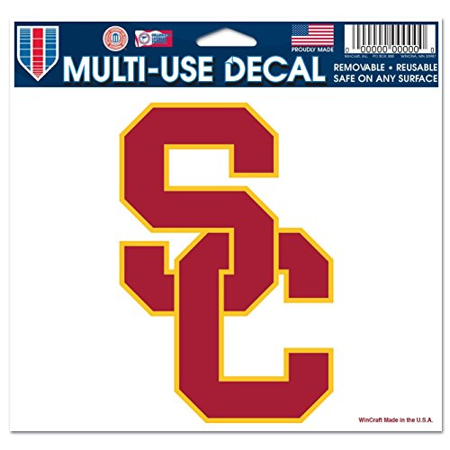 WinCraft NCAA USC Multi-Use Colored Decal, 5