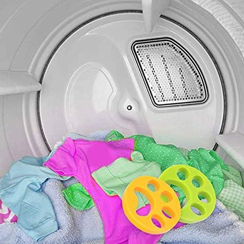 Jaune et Vert r/écup/érateur de Fourrure Flottant r/éutilisable pour Animaux de Compagnie APIKA 2 pi/èces /épilateur pour Poils danimaux pour Machine /à Laver et blanchisserie