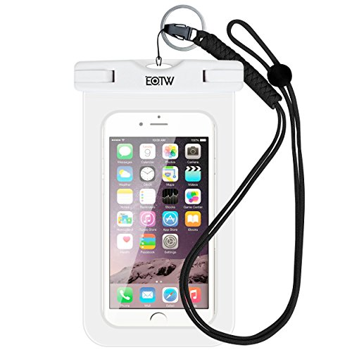 EOTW IPX8 Universal Waterproof Case for Smartphone Device to 6.5