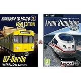"Pack Simulador de Conductor del Metro Berlin & del Tren ""Train Simulator 2013"""