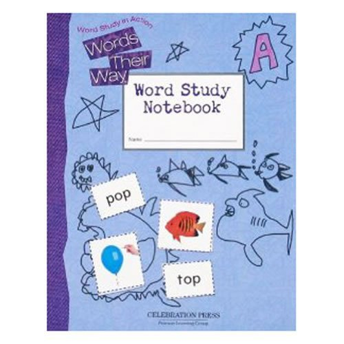 WORDS THEIR WAY LEVEL A STUDENT NOTEBOOK 2005C by CELEBRATION PRESS (2004-07-15) (Words Their Way 2004)