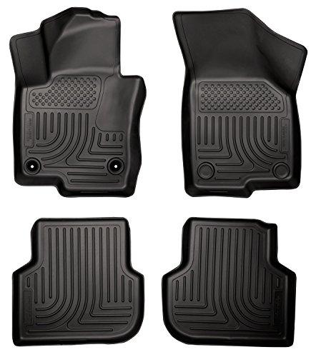 Husky Liners Front & 2nd Seat Floor Liners Fits 11-17 Volkswagen Jetta SEL Sedan