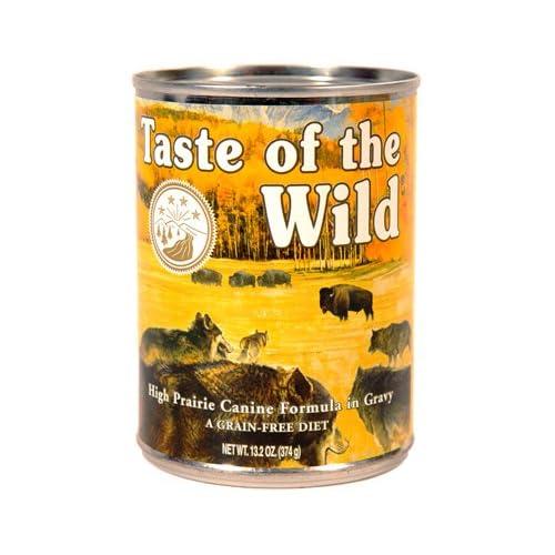 Taste Of The Wild High Prairie Can Dog Food Case,13.2 oz.