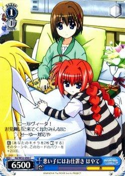 Punishment Hayate To Wei? Schwarz Bad Child Magical Girl Lyrical Nanoha The  MOVIE 1st U0026