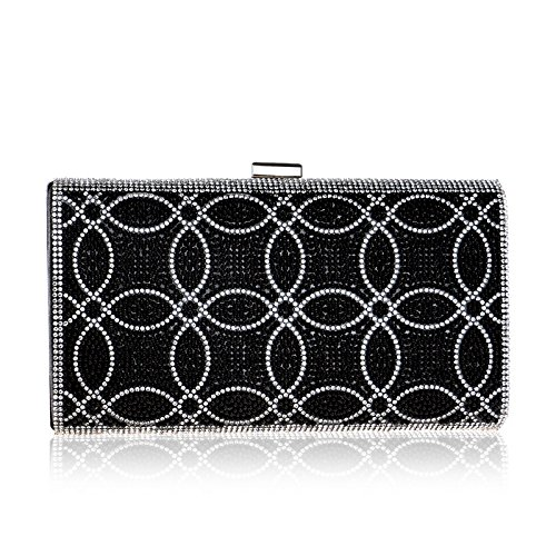 sera Borsa American European da Bag Bag Bag Dinner Evening Fly nera Ladies Banquet Clutch Dress RTWndg