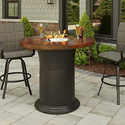 Marvelous Amazon Com Outdoor Greatroom Company Colonial Fire Table Uwap Interior Chair Design Uwaporg