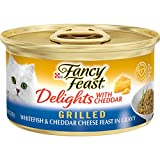 Purina Fancy Feast Gravy Wet Cat Food, Delights