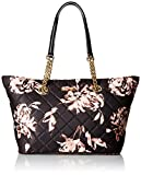 Calvin Klein Florence Quilted Nylon Tote, Flower Print