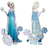 "NEW! ELSA FROZEN AIRWALKER 57"" Wow! Birthday party Balloons Decoration Supplies"