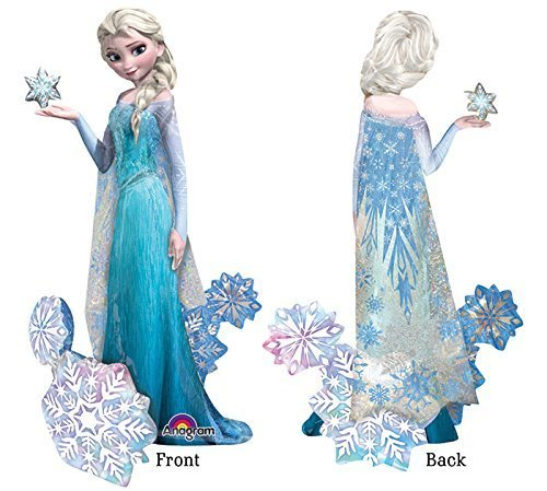 Elsa Birthday Party (Frozen's Elsa The Snow Queen Airwalker Birthday Balloons Decoration - 57