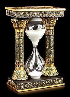 egipcio Reloj de arena con Ankh Y OJO EL RA símbolos EGIPTO Figura decoración