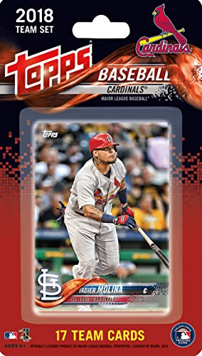 St Louis Cardinals 2018 Topps Factory Sealed Special Edition 17 Card Team Set with Adam Wainwright and Yadier Molina Plus