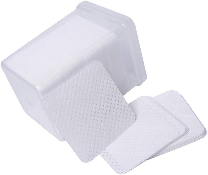 Kit de colle pour extension de cils: 1 mini ventilateur USB 100 brosses jetables 100 x coton-tiges 50 tampons oculaires en gel courbes droites 200 tampons de nettoyage 2x pincettes