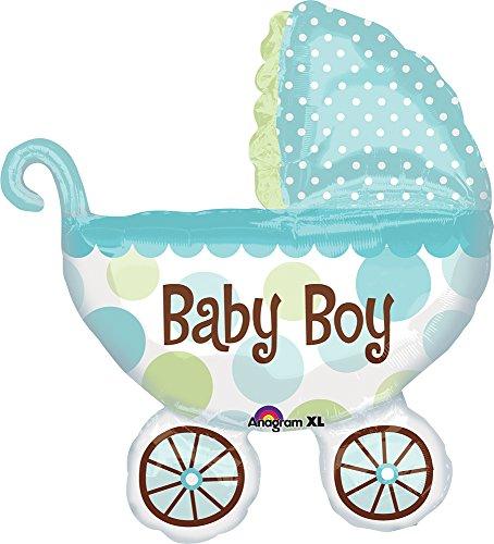 Boy Shape (Anagram International Baby Buggy Boy Shape Foil, 31