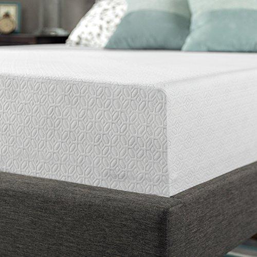 zinus 12 inch gel infused green tea memory foam mattress twin import it all. Black Bedroom Furniture Sets. Home Design Ideas
