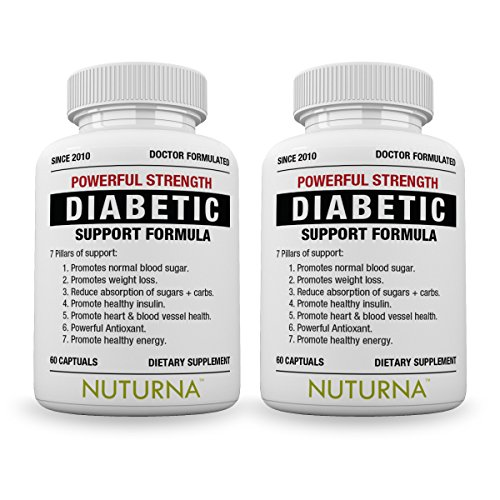 Nuturna® - Helps Promote Normal Blood Sugar Levels - 28 Herbs Vitamins & Minerals to Support Healthy Blood Sugar Levels, Healthy Body Weight & Extra Energy - Diabetic Multivitamin For Men & Women by Nuturna