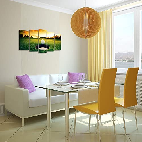 home, kitchen, wall art,  posters, prints 5 discount Kreative Arts - Golf Course Scenery Canvas Wall Art promotion