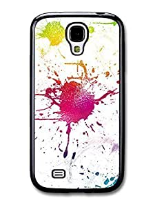 AMAF ? Accessories Colour Spot Glass case for Samsung Galaxy S4