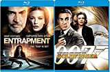 Goldfinger + Entrapment Blu Ray Action Sean Connery movie Set Combo Edition James Bond Classic