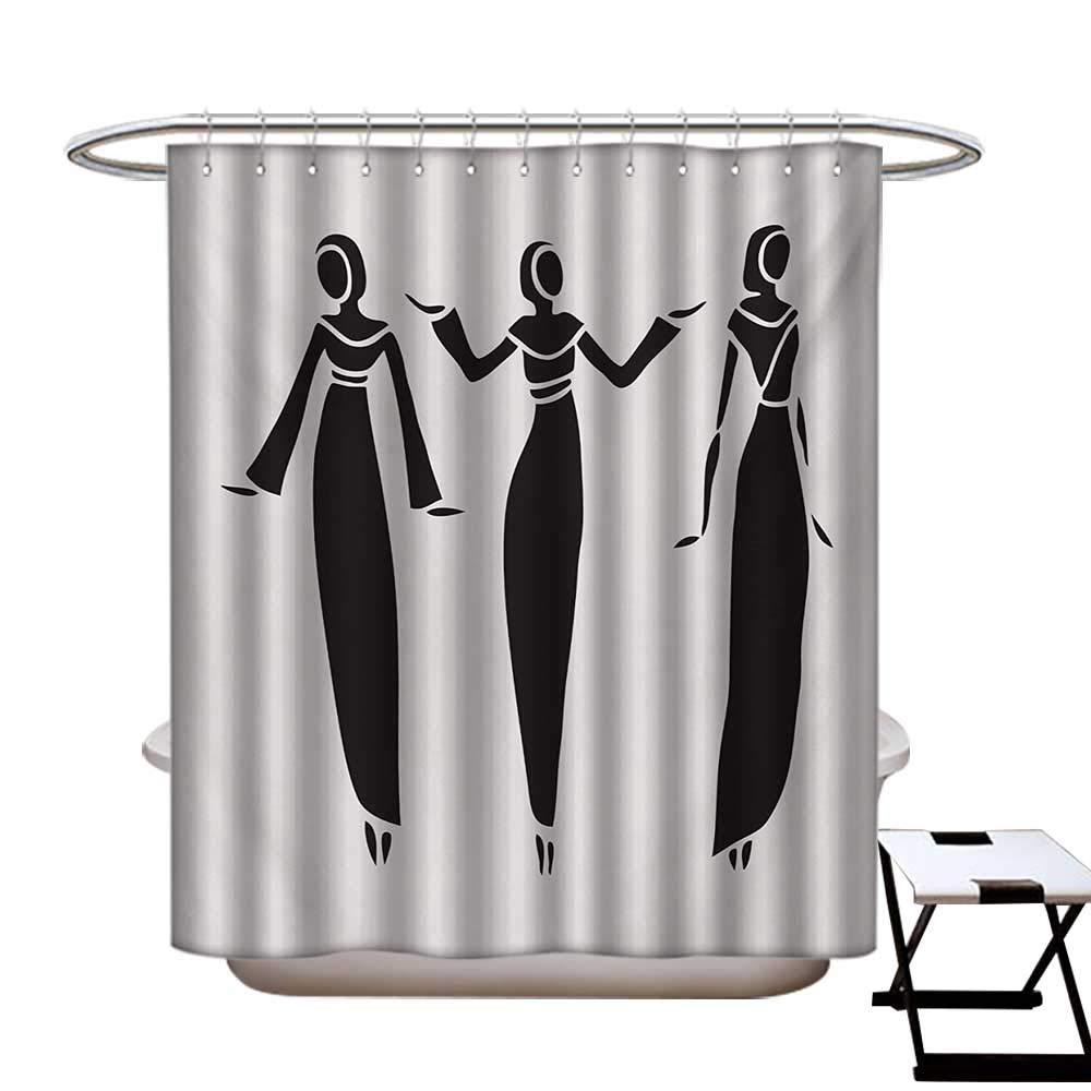 Amazon.com: Microcosm - Cortina de ducha con diseño de ...