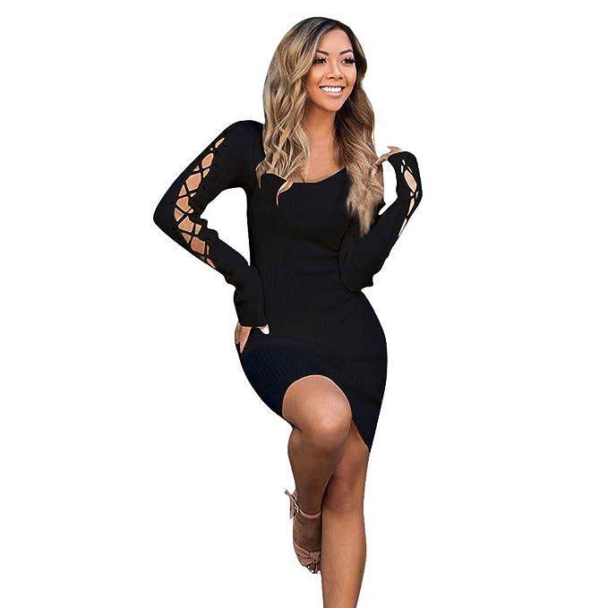 beautyjourney Vestido Bodycon Club para Mujer 4cadd87de39e