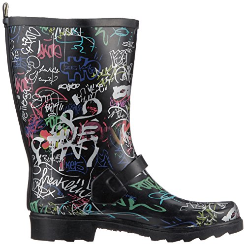 Black Beck Graffiti Bottes Beck Graffiti Bottes Black femme femme vwg6wqzZxS