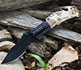 NEW! 8.25'' MARINE SPRING ASSISTED TACTICAL FOLDING KNIFE Blade Assist Pocket Open
