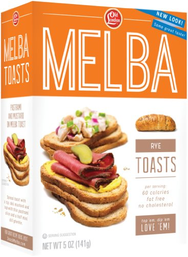 Cheap Old London, Melba Toasts, Rye, 5 Ounce (Pack of 12)