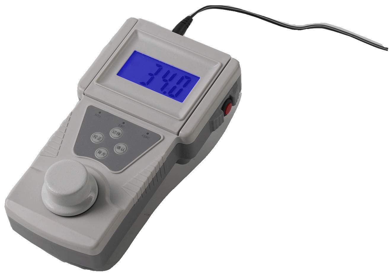 CGOLDENWALL Digital Portable Turbidity Meter Portable Turbidimeter Liquid Handheld Turbidity Tester (0-400NTU, 400-1000NTU/0.1) by CGOLDENWALL