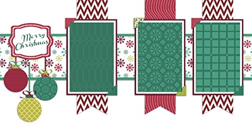Premade Scrapbook Pages CHRISTMAS BANNERS EZ Layout 567