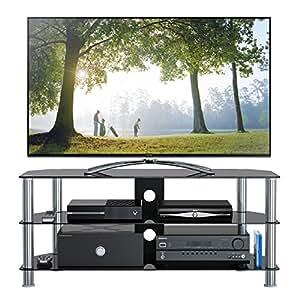 1home Soporte de televisor de 120 cm GT5 para televisor de 32-70 Pulgadas de Plasma/LCD / LED / 3D - Negro
