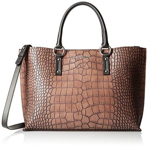 ARMANI JEANS donna borsa shopping 922518 6A711 00176 BORDEAUX Marrone