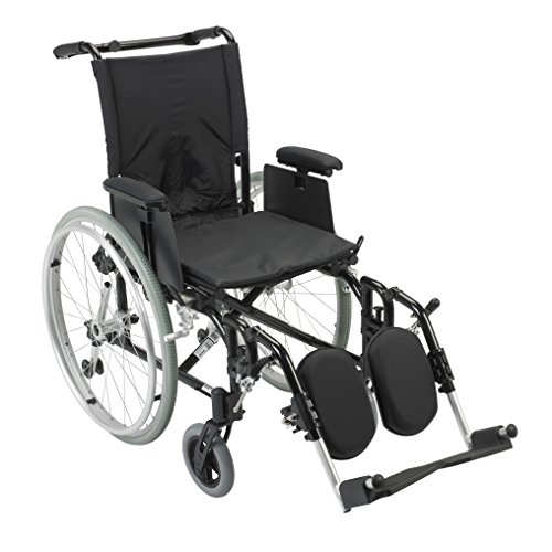 AK516ADA-AELR - Cougar Ultra Lightweight Rehab Wheelchair, Elevating Leg Rests,