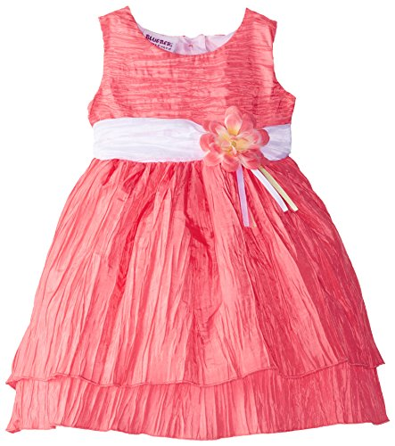 Blueberi Boulevard Baby Girls' Crinkle Dress - Import It All