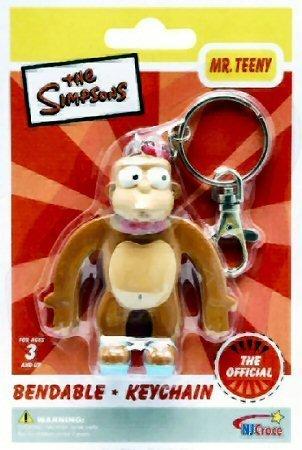 Amazon.com: Simpsons – Sr. Teeny Bendable Llavero: Toys & Games