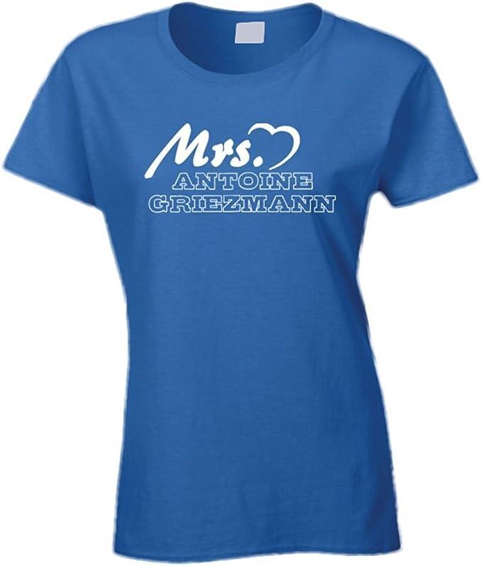 Mrs Antoine Griezmann France Football Player Soccer Fan T ...