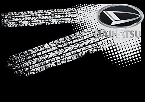 Daihatsu Auto Logo car Schwarze T-Shirt vor Fun -633