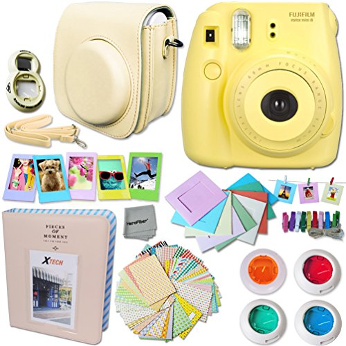 fujifilm-instax-mini-8-camera-yellow-accessories-kit-for-fujifilm-instax-mini-8-camera-includes-cust
