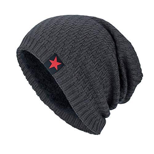 Unisex Knit Cap Hedging Head Hat Beanie Warm Knit Caps Female Casual Men Winter Hats ()