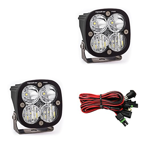 LED Light Pods Driving Combo Pattern Pair Squadron Pro Series