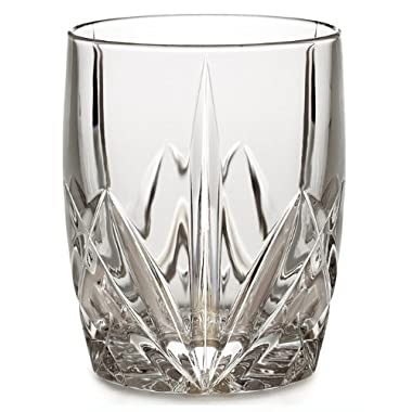 Marquis by Waterford Brookside 12-Ounce Double Old Fashion Glasses Set of 4