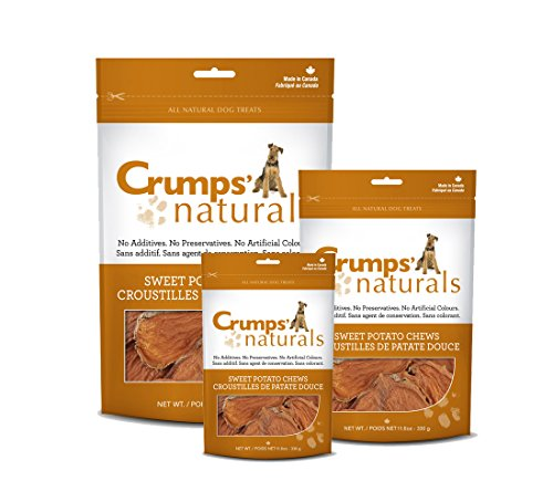 Crumps' Naturals Sweet Potato Chews For Pets, 24-Ounce