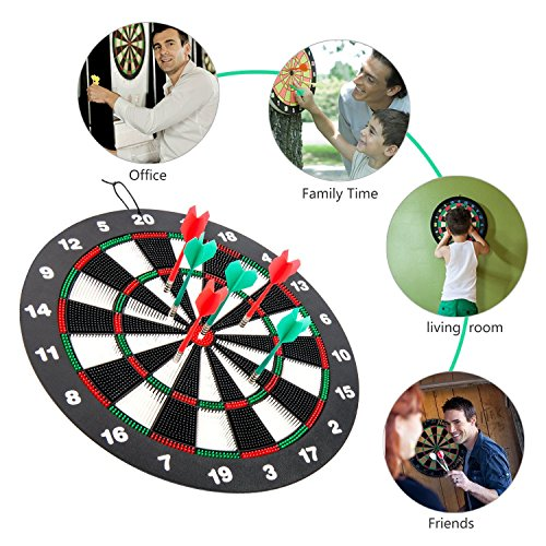 Review Safety Dart Board Set