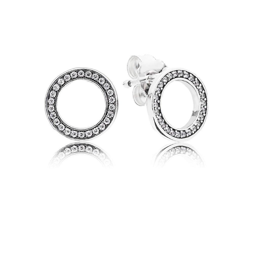 Pandora-290585CZ-Forever-Pandora-Stud-Earrings