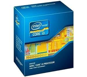 Intel - Procesador Intel Core i3 2105 (3,1 GHz, LGA1155, zócalo L3, 3 MB de caché)