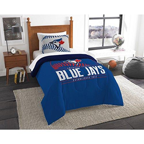 The Northwest Co mpany MLB Toronto Blue Jays Grandslam Multicolor Twin 2-piece Comforter Set - Toronto Blue Jays Pieces