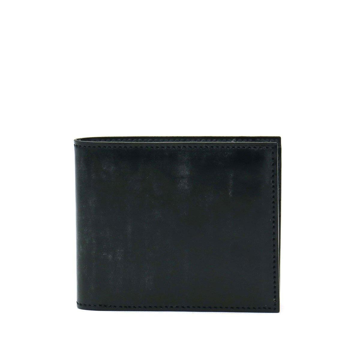 [ファイブウッズ]FIVE WOODS ベーシックス ブライドル BASICS bridle BILLFOLD 二つ折り財布 43015 B07C4NK2YD ブラック