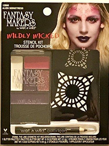 Wet n Wild Fantasy Makers Wildly Wicked Stencil Kit - 12860 Alien Seductress]()