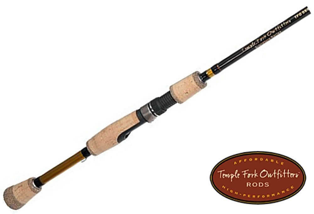 6' L 2 pc. TFG Travel Spinning Rod