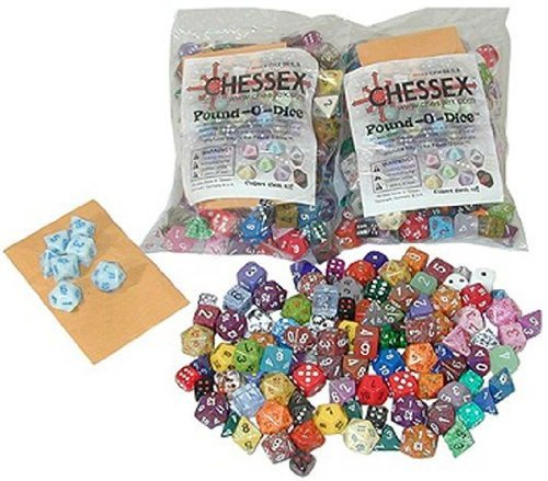 Chessex 001LBCHX Pound O Dice product image